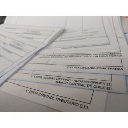 Formulario Oficio Autocopiativo